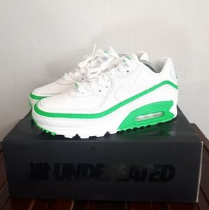 "NIKE AIR MAX 90 UNDEFEATED ""WHITE/GREEN SPARK"""